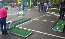 Crazy Golf Hire UK