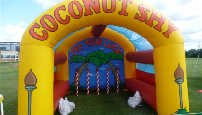 Inflatable Coconut Shy Hire