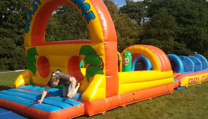 Inflatable 50ft Obstacle Course Hire