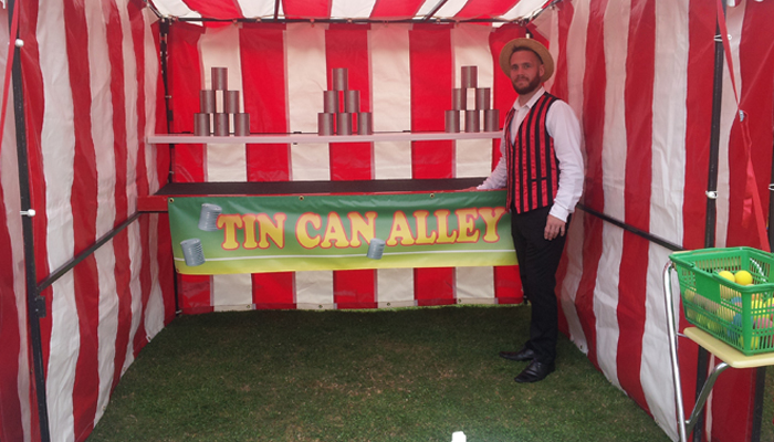 Tin Can Side Stall Hire