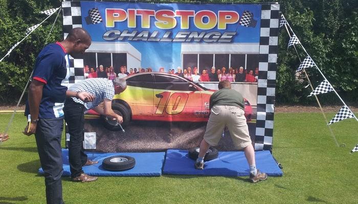 Pitstop Challenge Hire