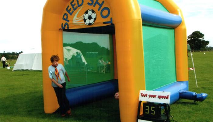 Inflatable Radar Speed Football
