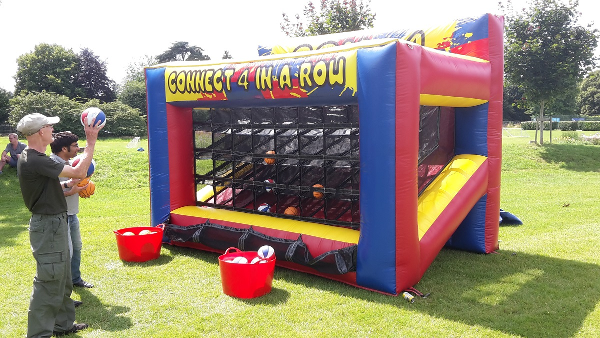 Inflatable Connect 4 Hire