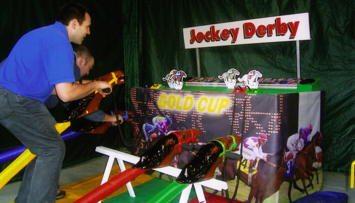 Jockey Derby Gold Cup Racing