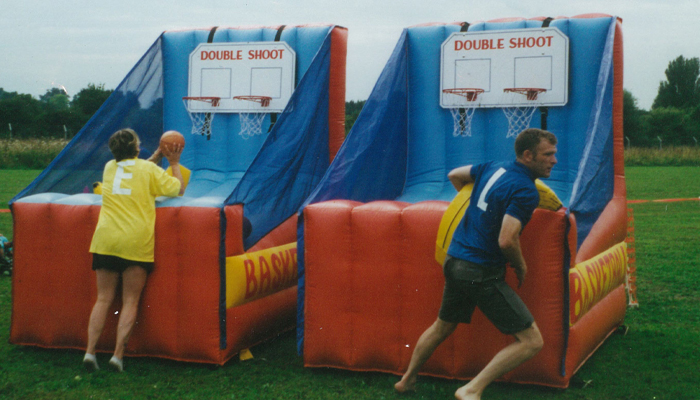 Inflatable Basketball Hire