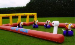 Inflatable Pony Hop Racing Hire
