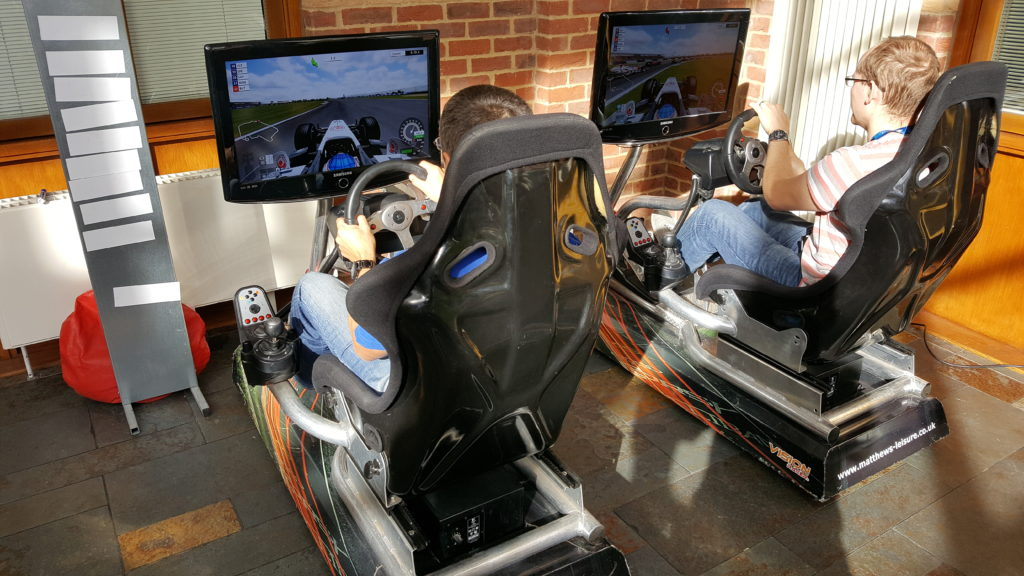 Vision Racing Simulators Hire UK