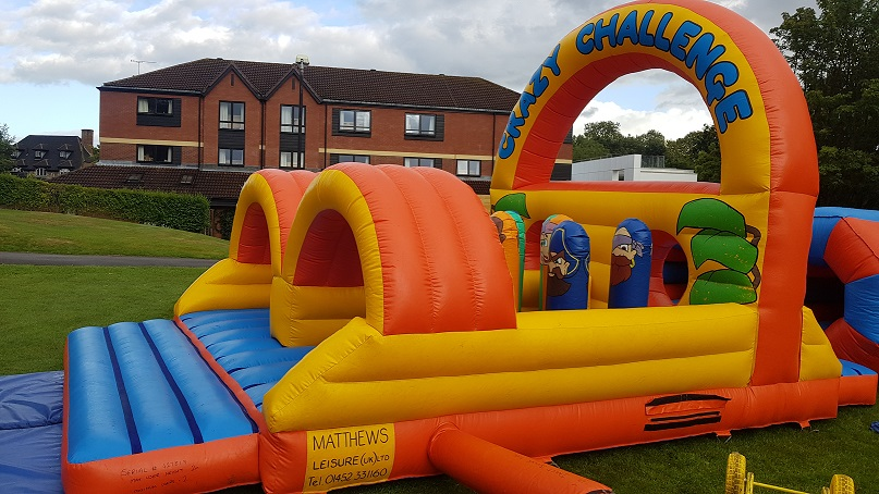 70FT Long Inflatable Obstacle Course