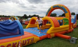 Inflatable 50ft Obstacle Course