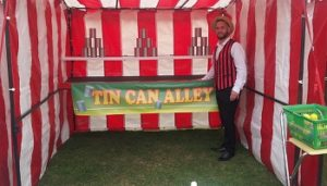 Tin Can Ally Funfair Side Stall Hire